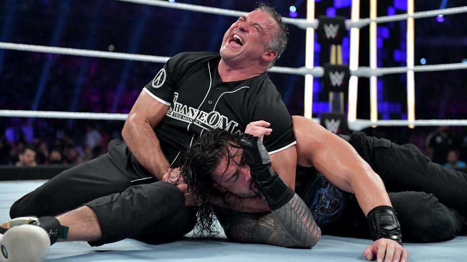 Shane McMahon vs. Roman Reigns