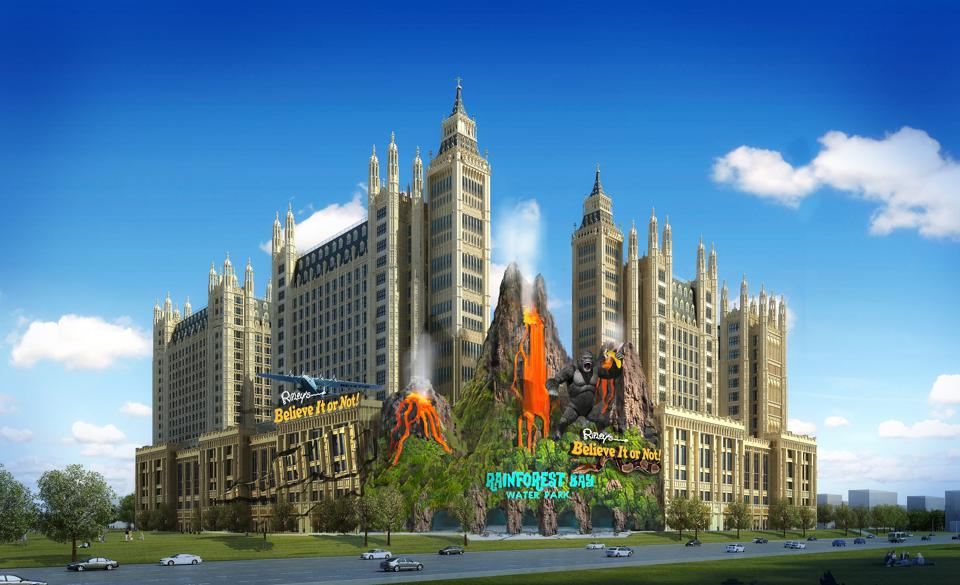ITEC Entertainment in Harbin, China.