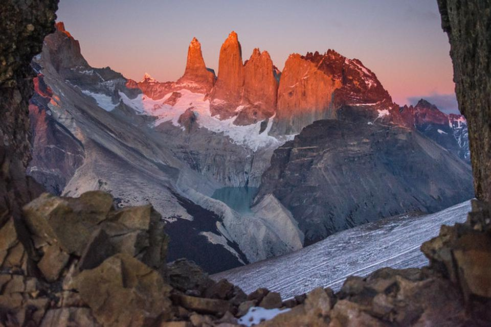 Las Torres is one of the most iconic views of Torres Del Paine.