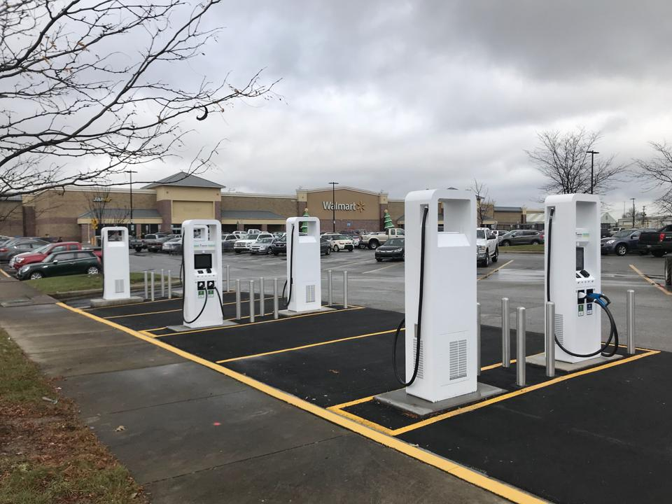 An expanding network of public chargers in the heartland of America could help future EV sales.