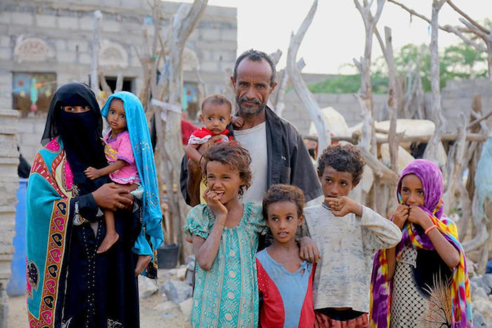 Many parents in Yemen, like Saba's, struggle to feed their families.