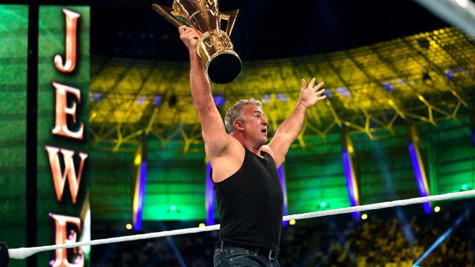 Shane McMahon WWE Champion best in the world kofi kingston world cup