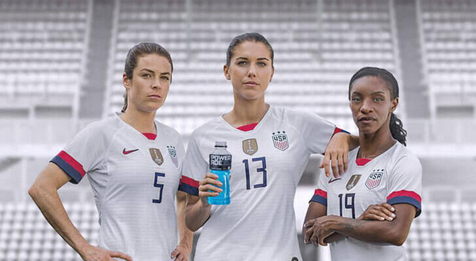 Powerade, the official sports drink of the USWNT, is partnering with the U.S. Soccer Foundation to create safe spaces for girls to play soccer.