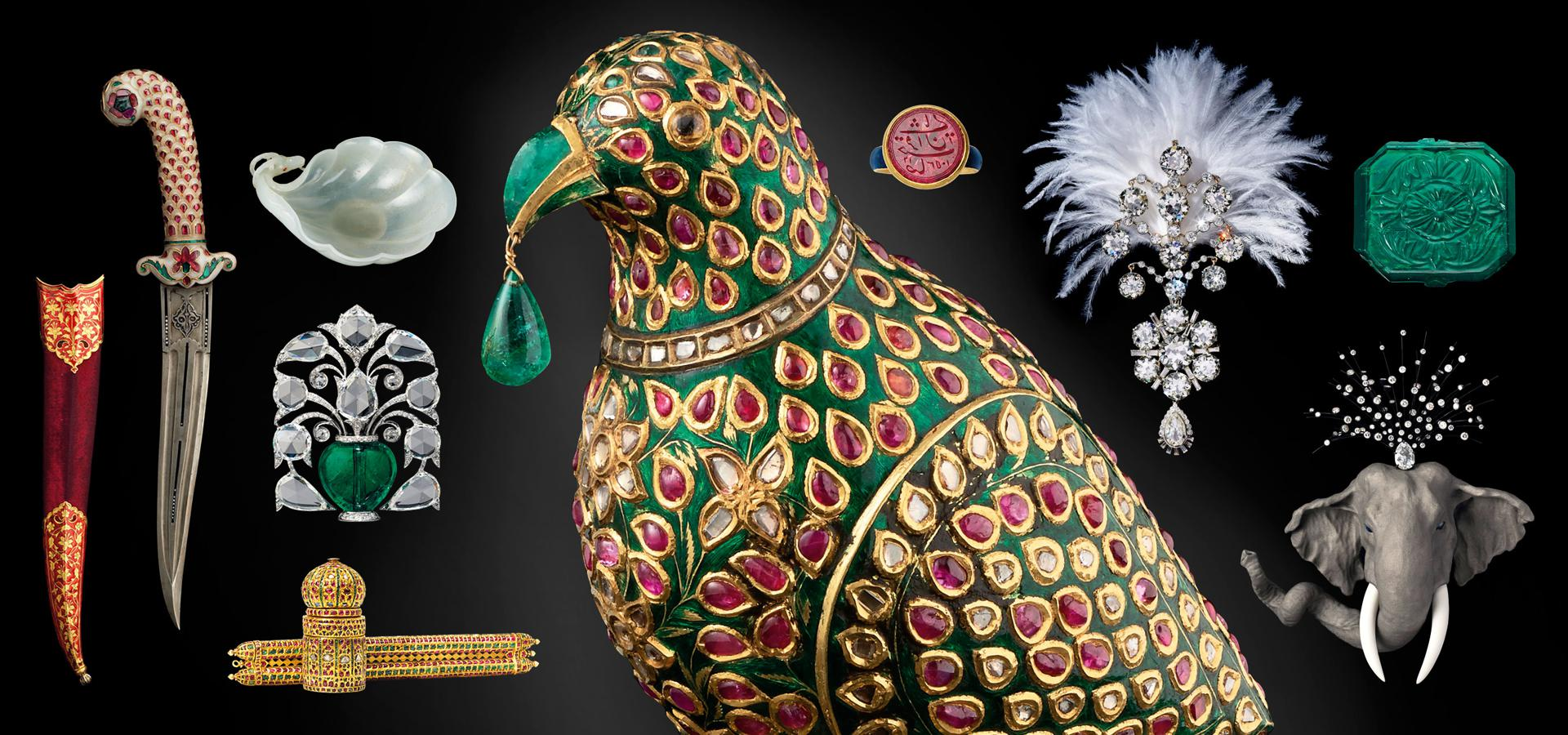 Maharajas and Mughal Magnificence objects