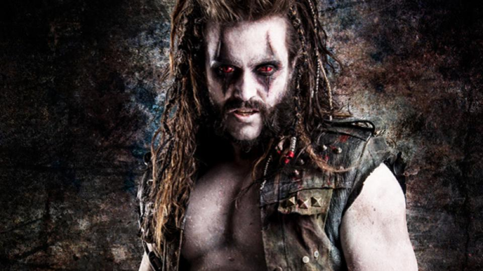 Emmett J. Scanlan as Lobo, from Syfy's Krypton series
