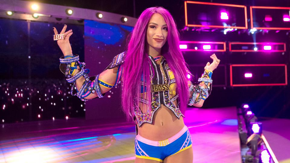 sasha banks aew wwe twitter all elite wrestling shitty product past greatness