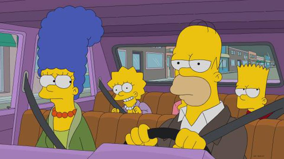 THE SIMPSONS airs on FOX.  (Photo by FOX via Getty Images)