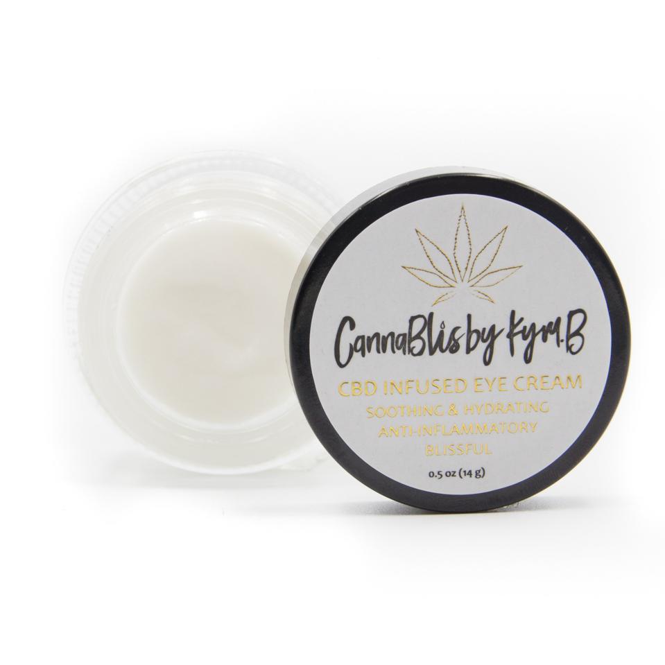CannablisByKymB CBD Infused Eye Cream