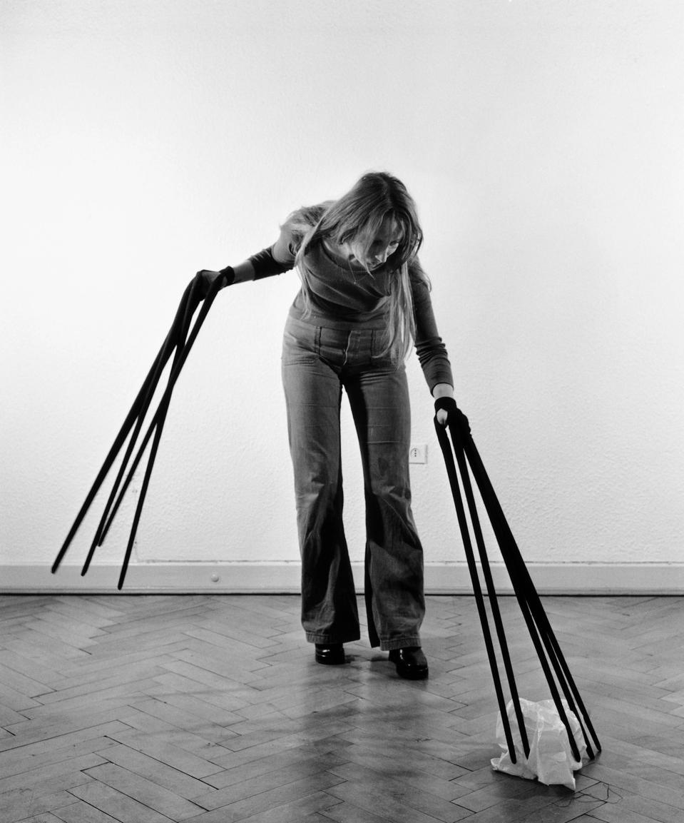 Rebecca Horn, Finger Gloves, 1972. Photography. Rebecca Horn Collection. © 2019: Rebecca Horn/ProLitteris, Zürich
