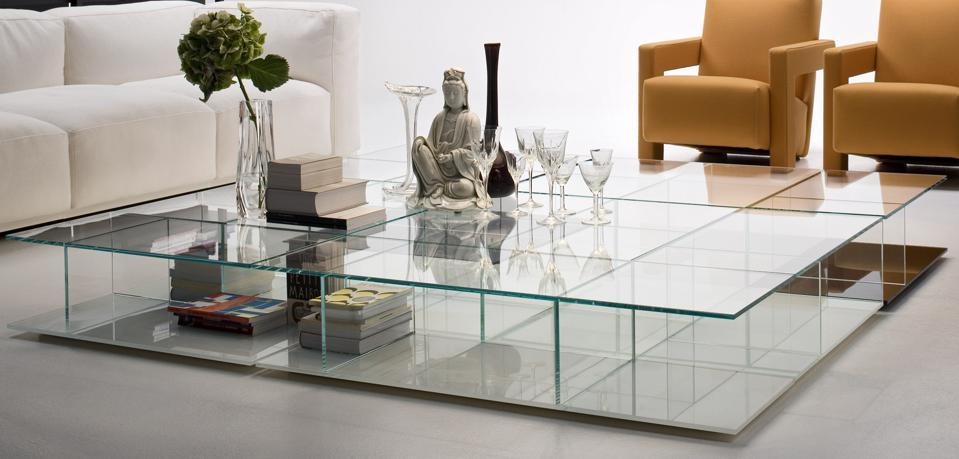Cassina glass table