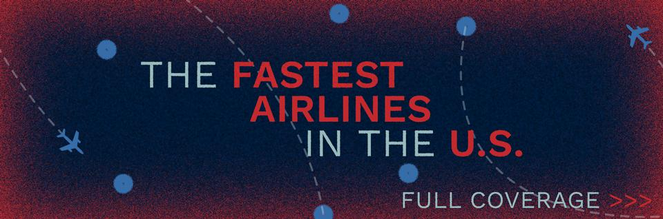 Fastest Airlines In US Banner