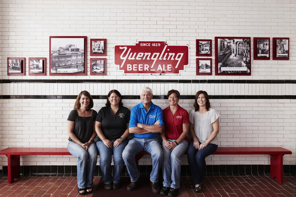 Dick Yuengling and his four daughters now run the 190-year old brewery.
