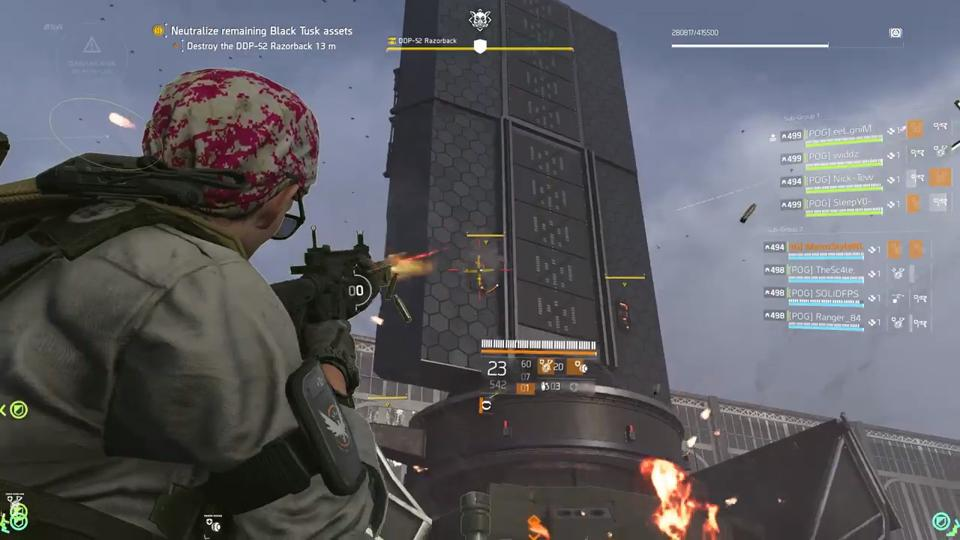 Division 2 raid loot