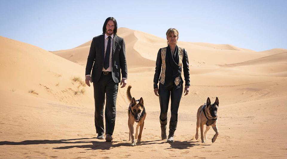 'John Wick' is one of the few franchises this year which hasn't gone to the dogs.
