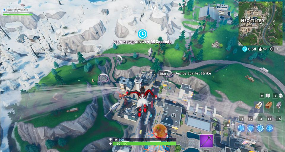 Fortnite Fortbyte 02 Location Found At A Location Hidden
