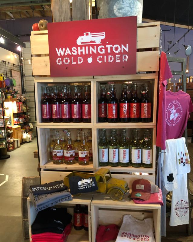Washington Gold Cider is made in Manson, Wash.