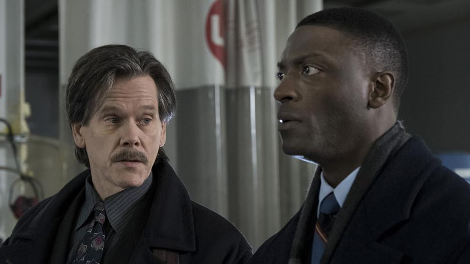 Kevin Bacon and Aldis Hodge star in ″City on a Hill.″