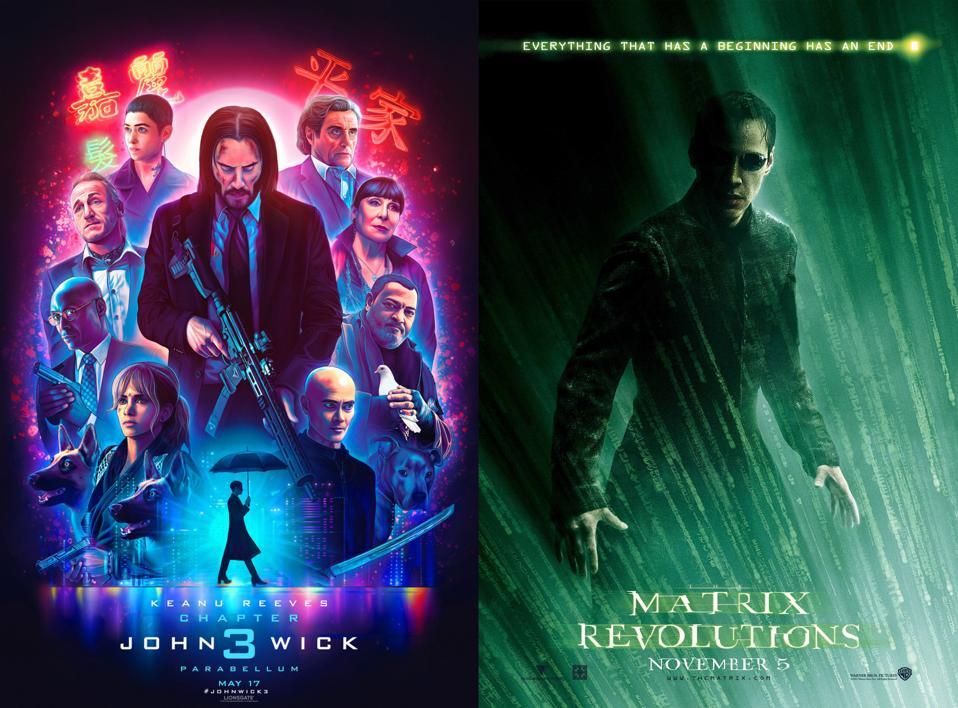 John Wick and The Matrix Revolutions