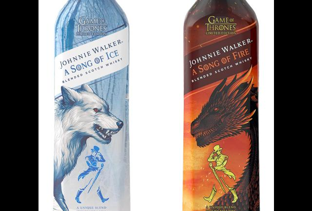 Game Of Thrones Whisky: Johnnie Walker To Release Fire And Ice Blends