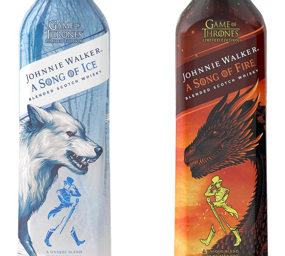 Johnnie Walker has released two new Game of Thrones collaboration whiskies.
