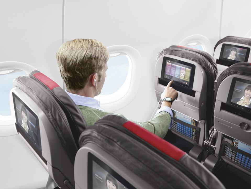 Free live TV on American Airlines