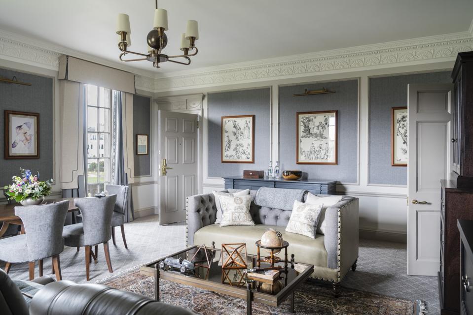 The Estate Suite at Gleneagles in Scotland