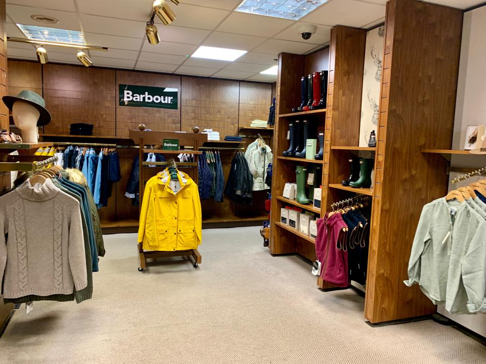 Gleneagles has an outerwear loaner program in which guests can borrow Barbour coats and Hunter boots to use during their stay.