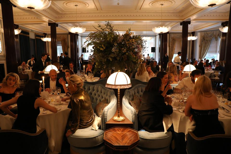 Gleneagles' elegant Strathearn restaurant was recently reopened after an extensive refurbishment.