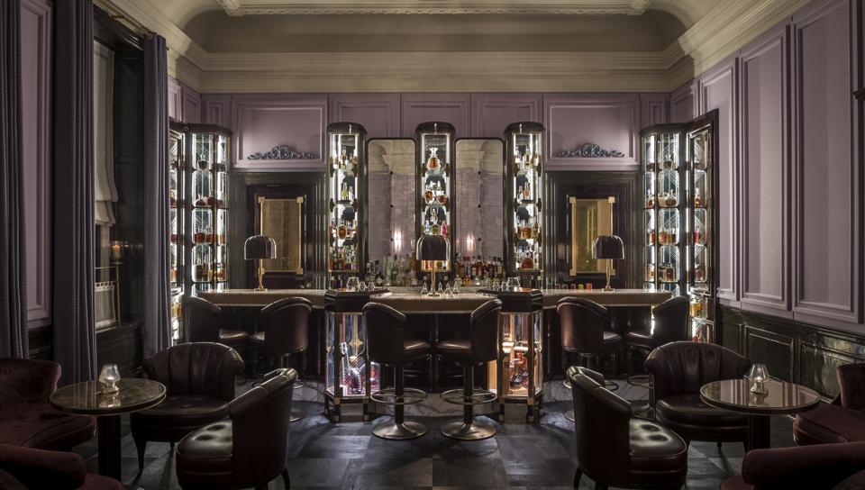 The American Bar at Gleneagles.