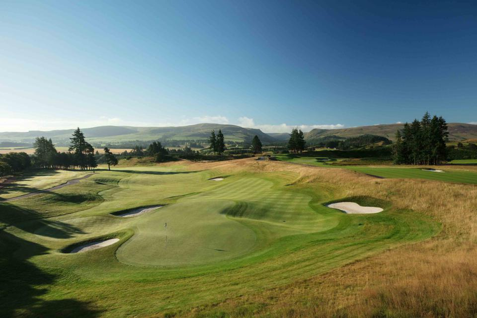 The PGA Course at Gleneagles was designed by Jack Nicklaus.