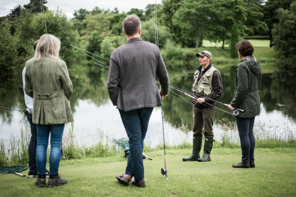 Gleneagles is known for its extensive outdoor pursuits programming.