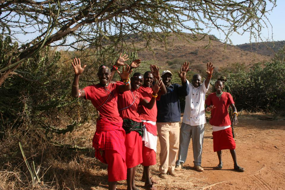 Local Samburu and Laikipia Maasai are the hosts of Loisaba's camps, including its star beds.