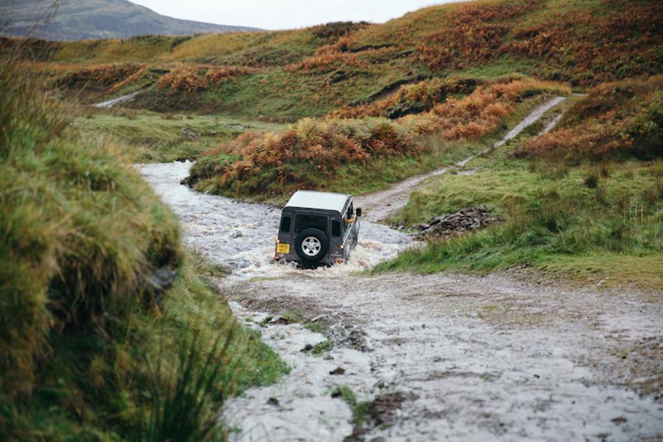 Gleneagles off-road courses