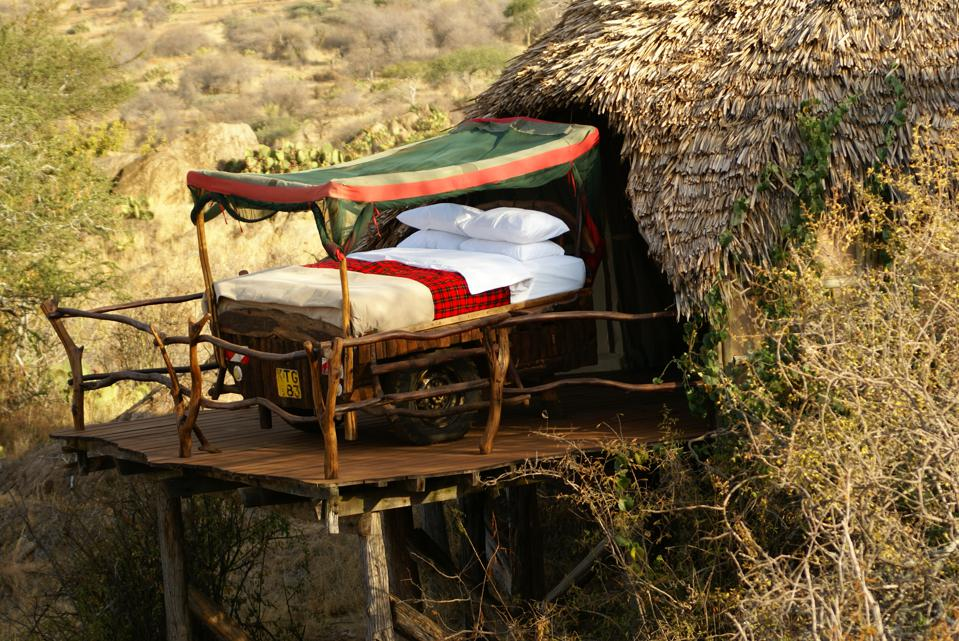 Loisaba's star beds are the perfect place to view Kenya's constellations.