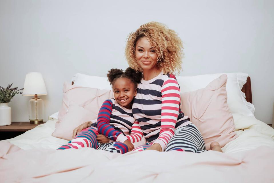 Destiney Green, mom influencer also known as Mom Crush Monday with daughter Honor, also known as TheHonor.Code.