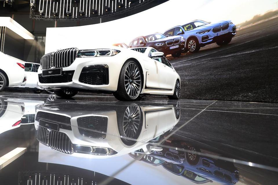 The new BMW 7 Series, presented at the 2019 Geneva Motor Show