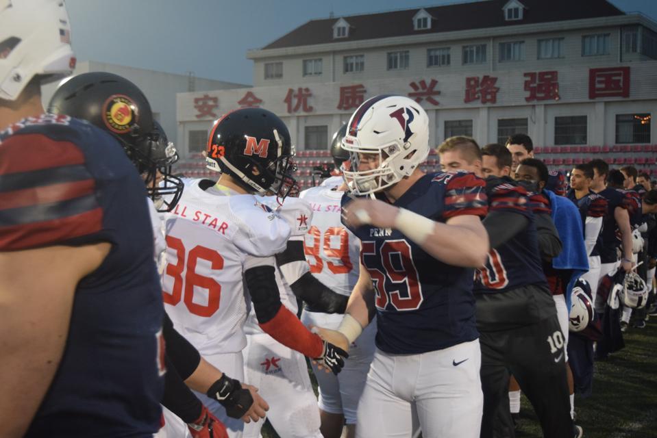 China, University of Pennsylvania, Football, NFL, NCAA