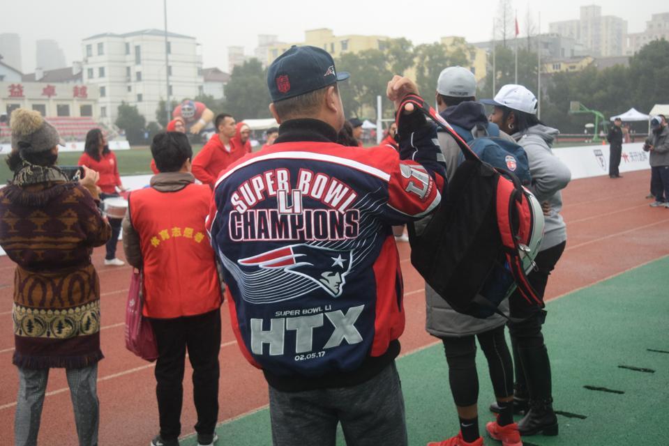 New England Patriots, China, NFL, football