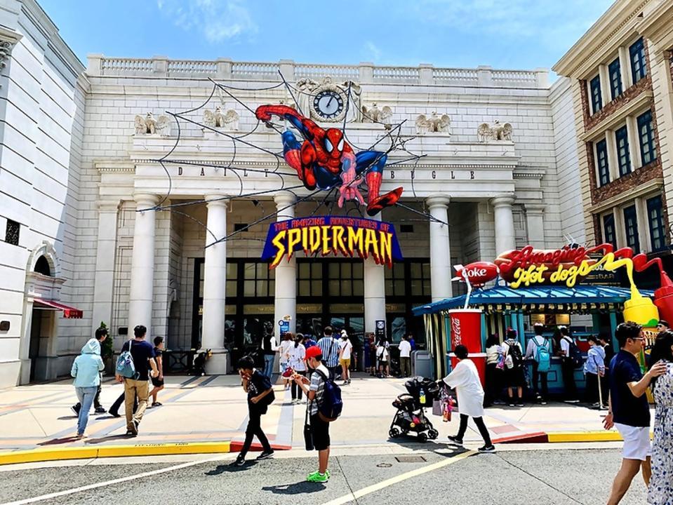 Universal Studios Japan Spider-Man