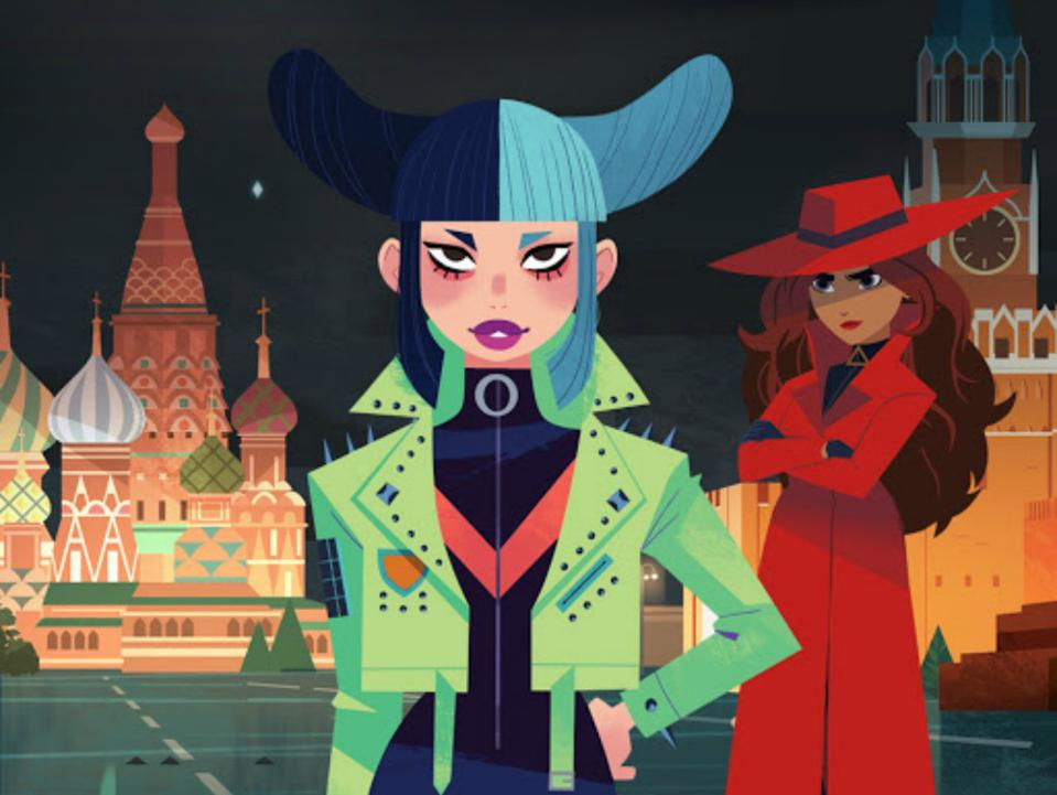 Where in the world is Carmen Sandiego on Google Earth