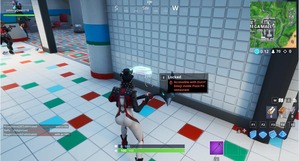 Fortnite' Fortbyte #59 Location: Accessible With the Durrr