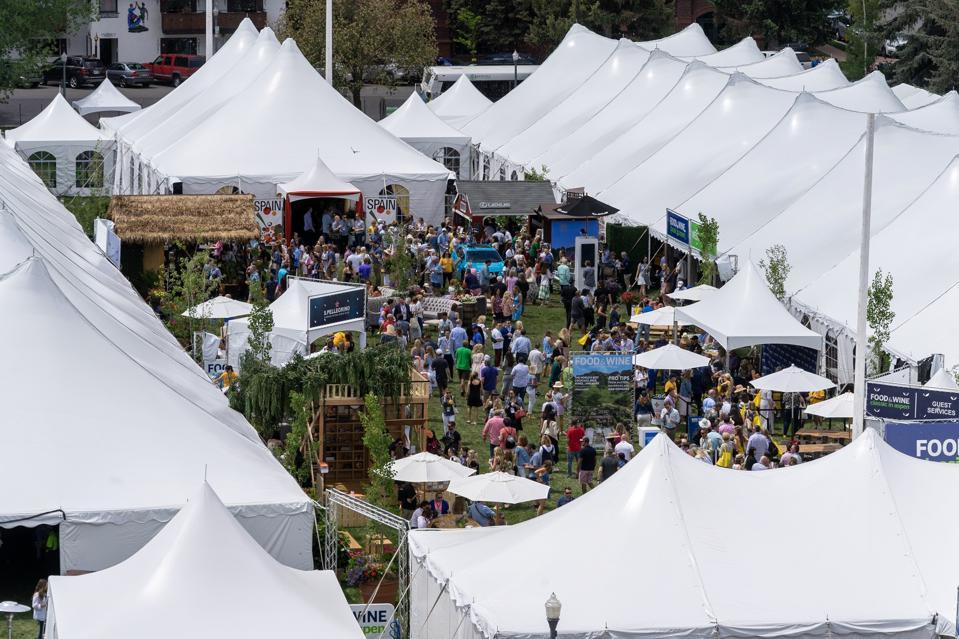 Food & Wine Classic, Aspen, CBD, Grön, Fleur d'Henri