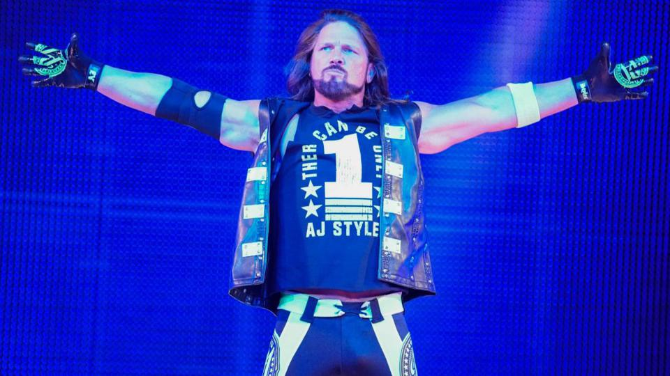 Image result for WWE Aj Styles
