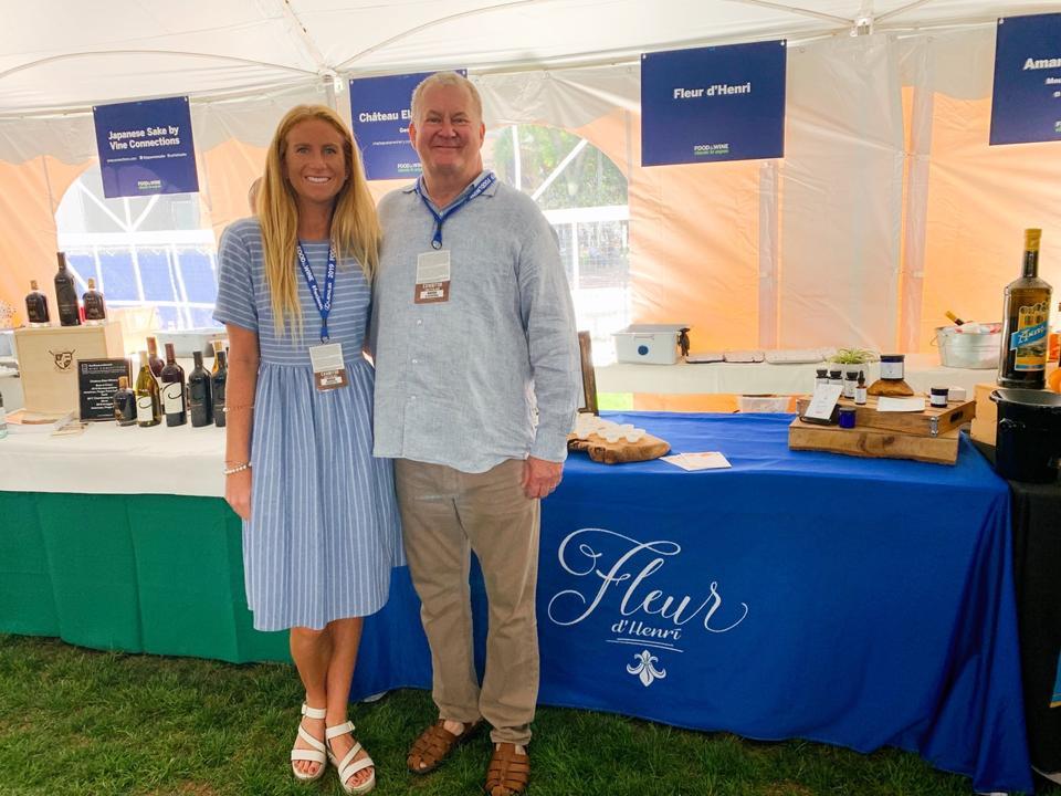 Fleur d'Henri, Food & Wine Classic, Aspen