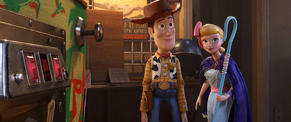 Tom Hanks and Annie Potts in 'Toy Story 4'