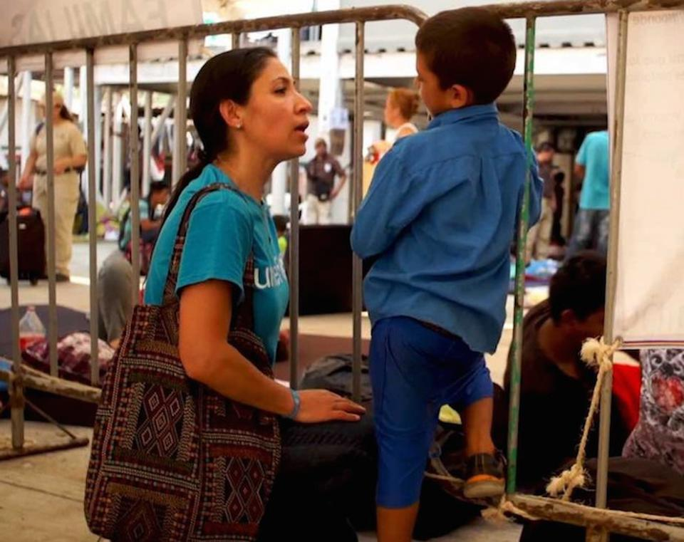 UNICEF Mexico's Gema Jiménez works to make sure migrant and refugee children get the care and protection they need.