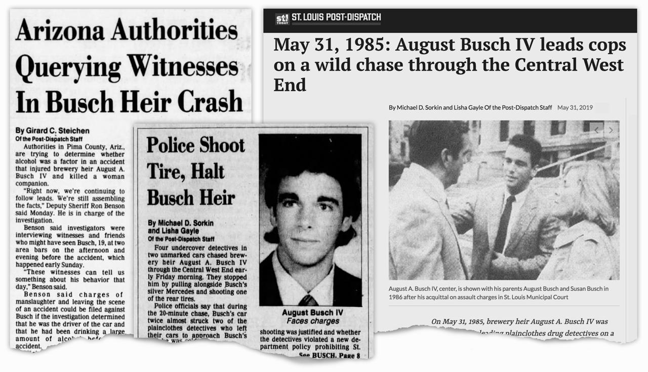 Busch Headlines 1985