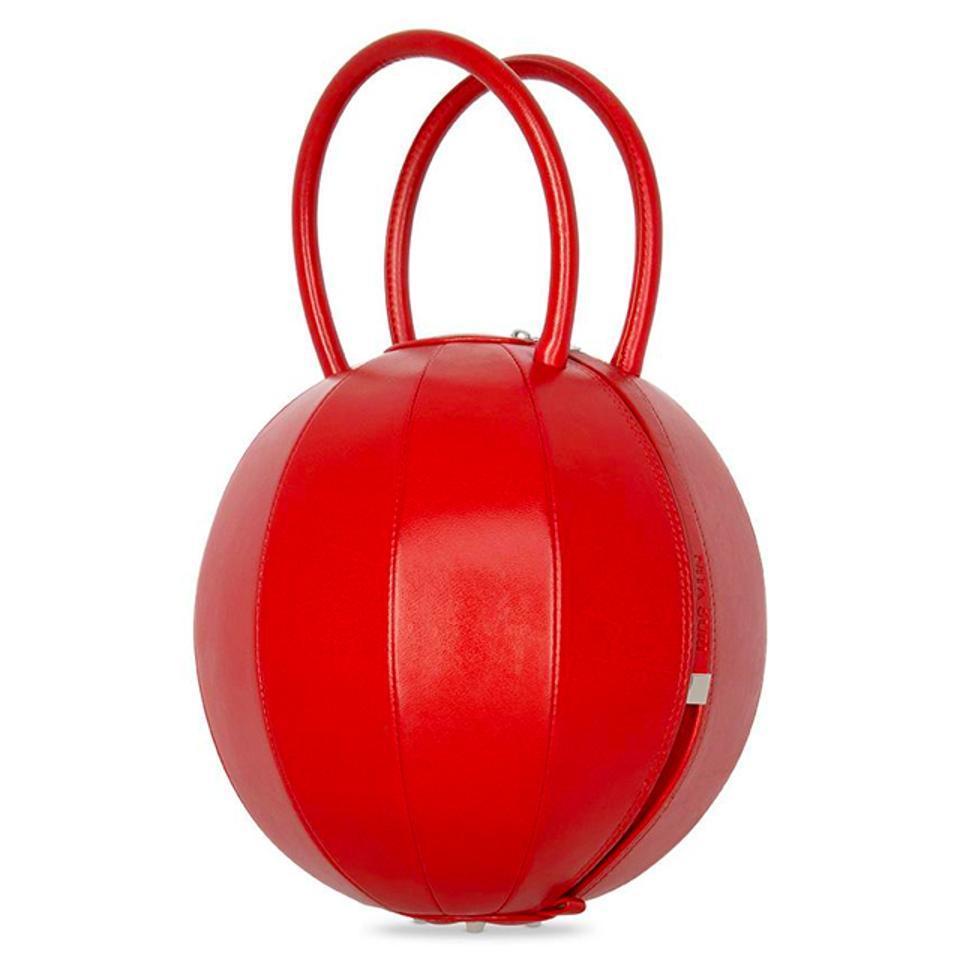 Nita Suri Pilo Red Handbag