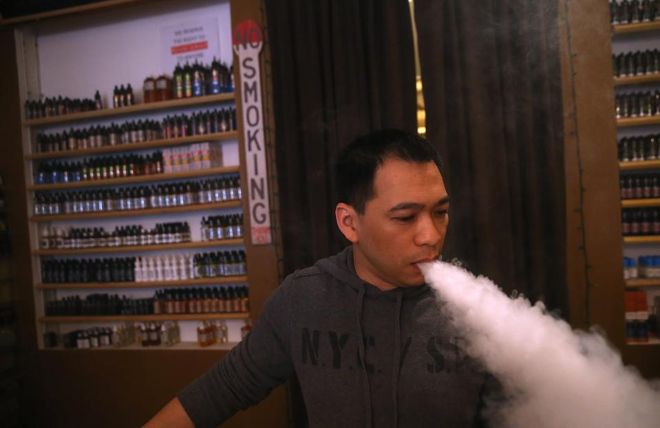 E-cigarette sales are set to be banned in San Francisco.