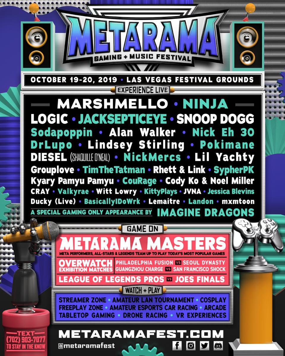 Metarama Features Marshmello, Logic, Snoop Dogg, Combines Esports
